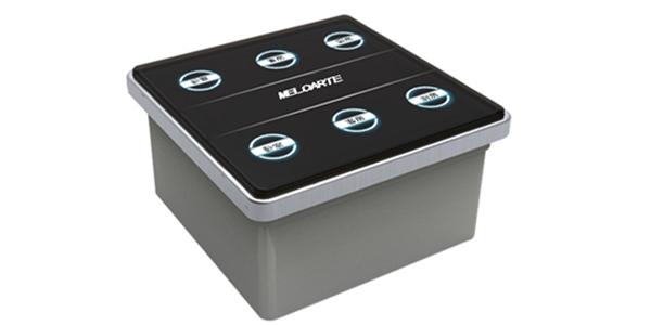 6键嵌入式触摸面板